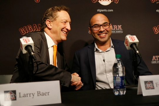 Giants CEO Larry Baer Reacts to Padres Loss